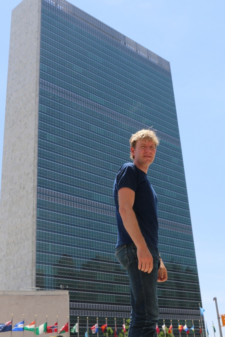 Bjorn Lomborg at the United Nations